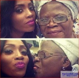 """See Pictures Of Tiwa Savage's Mother Teebillz Called A """"Witch"""""""